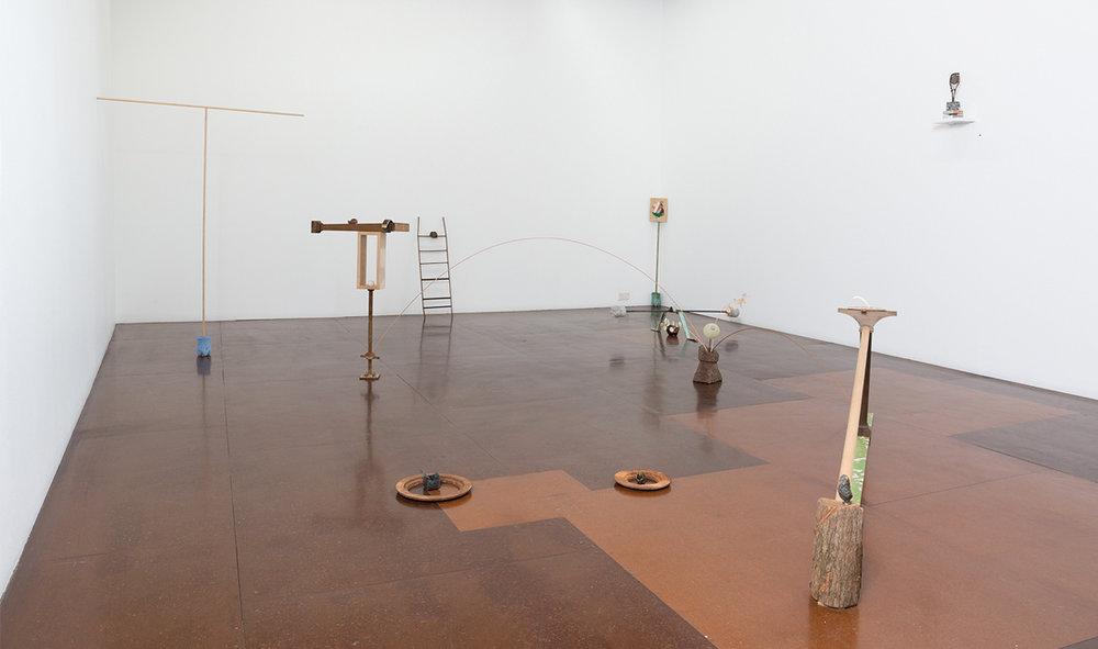 Rebecca Gallo,  World Material  installation view at Darren Knight Gallery, 2017.
