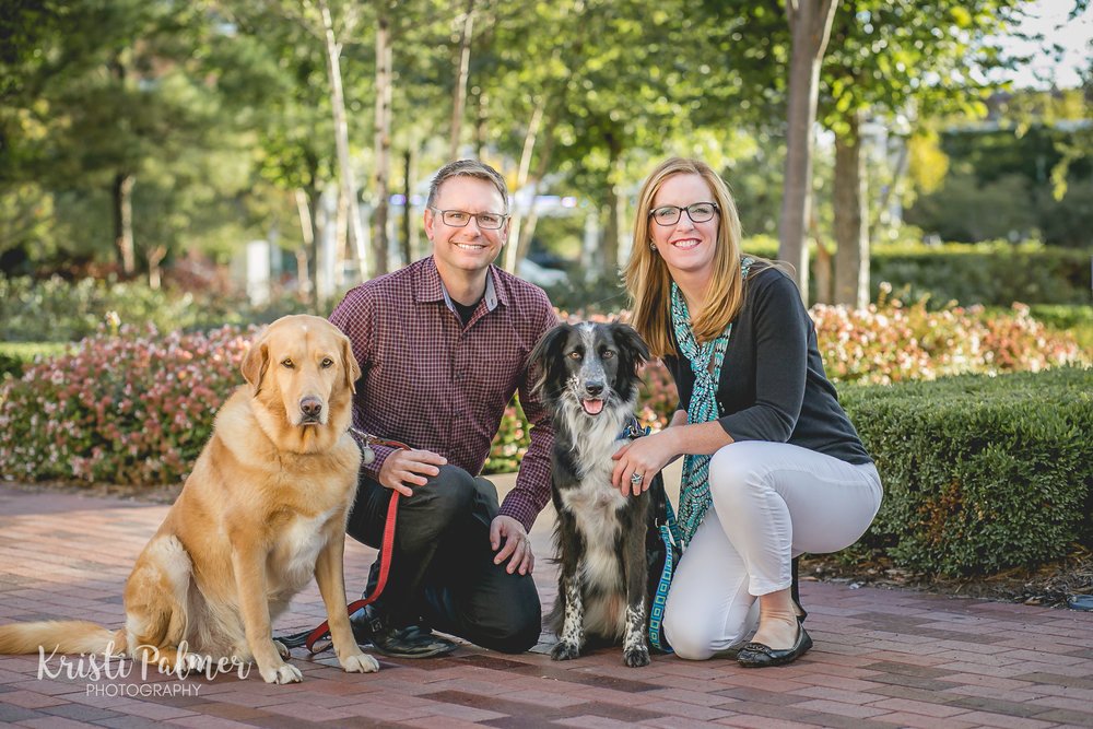 family pictures with dogs tulsa