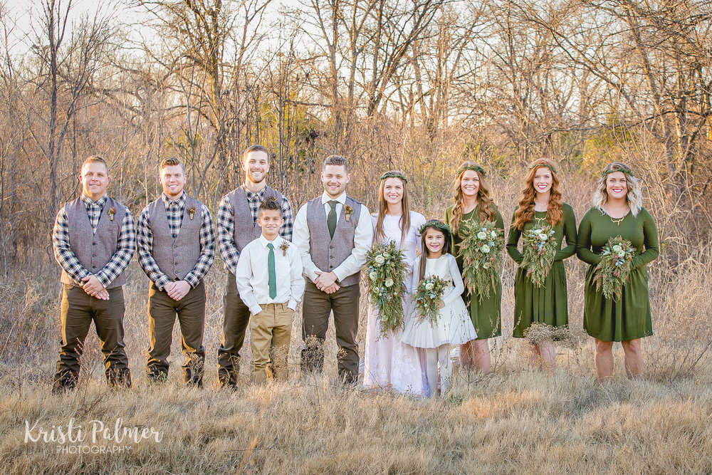 wedding party tulsa oklahoma