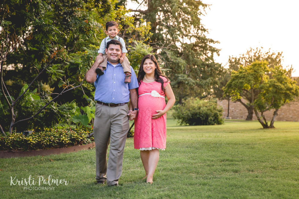 maternity family portrait session