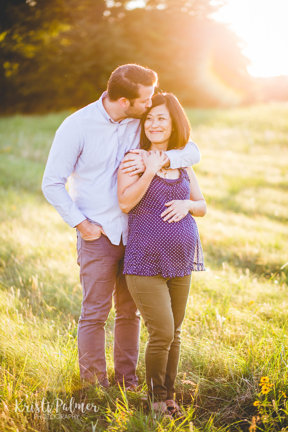 maternity portraits parents