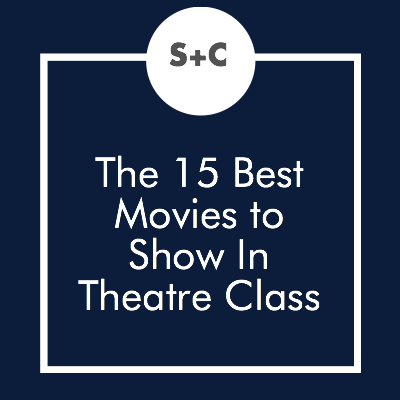 Teachers have known for decades that movies are the ultimate go-to when you need a low-key class day. But for theatre classes, they can do even more. The movies we've chosen below were all plays before they became films and make the perfect pairing to a script study in theatre classes. Let me know which script/movie pairing is your favorite!