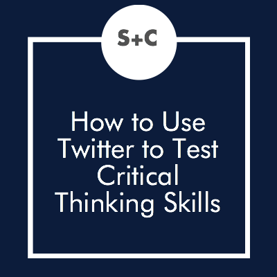 Just mention critical thinking in an English class and you'll get an audible groan from your students. Really, try it out. It's discouraging when you know students are bored of your lessons. But I've found the solution that has seriously changed my entire teaching strategy. While planning for English classes, I realized I can translate my Twitter strategy from this post to my English lessons. Here's how I'm going to test the critical thinking skills of my students with Twitter.