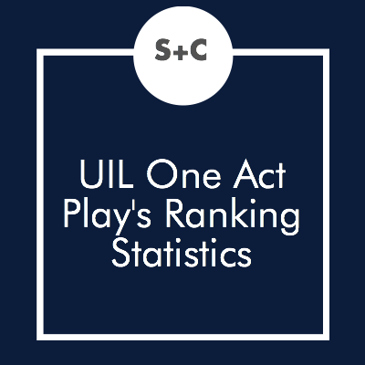 We all know the placement of your performance at state makes a huge difference in your chances at winning. And here's the stats to prove it! We analyzed the State One Act Play results from 1992 to 2016 and found the chances of ranking in the top three for each performance slot.