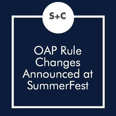We're here at SummerFest 2016 with all the amazing people in the Texas theatre community. The conference has been so rewarding. The workshop we care about the most, Luis Munoz's announcement of the new rules, was this morning. Here's the scoop on all he announced in case you missed it.