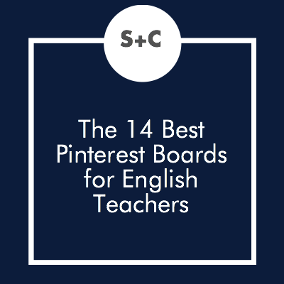 Who else is totally obsessed with Pinterest? *raises hand sheepishly* It's such a great resource for teachers and we thought you should know exactly where to go for amazing ideas. So here's our favorite Pinterest boards covering English class, lesson plans and more.