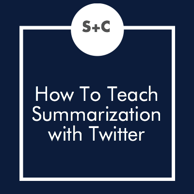 We're back at it with Twitter! I really can't get enough of this fabulous tool in my classes. While planning for English classes, I realized I can translate my Twitter strategy from this post to my English lessons. Here's how I'm going to test the critical thinking skills of my students with Twitter.