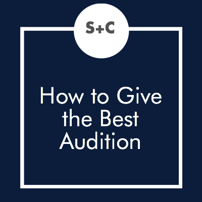 Most kids are always nervous about auditions. Some are nervous about speaking in public at all. Terry and I have spent many years developing an audition process that invites all kinds of kids while at the same time helps us to evaluate the top actors and singers in the school.