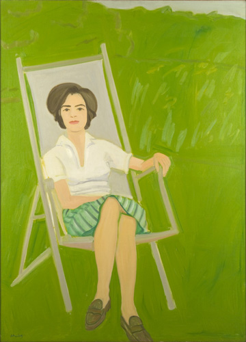 Someone explain Alex Katz to me? Ada Seated, 1963