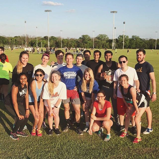 3-0 IM flag football victory with the TX Royals against AKDPhi and Gamma Beta!!! Good times! #phitau #txroyals