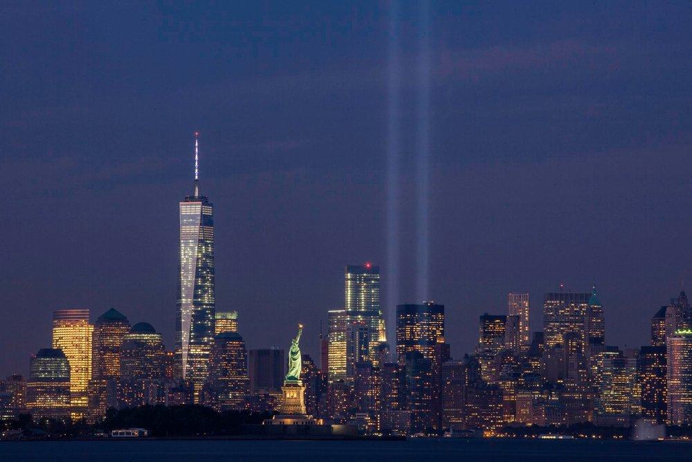 9/11 Tribute Lights