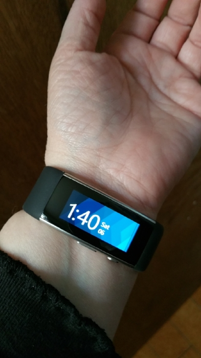 My second Microsoft Band 2