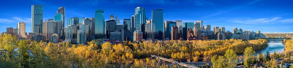 Calgary Skyline - Photo by Bruce Morin