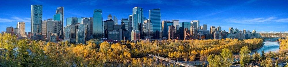 Calgary Skyline - Photo by Bruce Morin