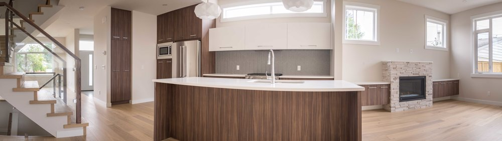 We stitched together a few shots of our recent semi detached project into a widescreen panorama, thanks bruce for the camera gear and know-how.