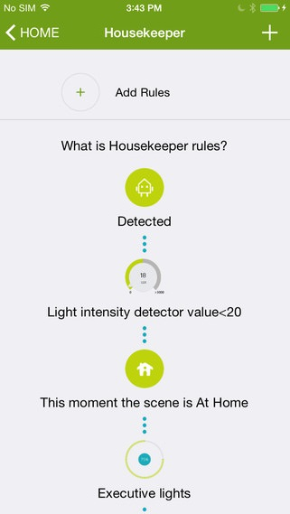 Wulian Smart Home Automation - Ios App - Housekeeper