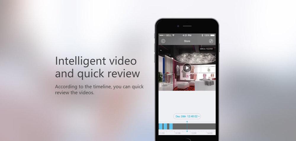Intelligent video