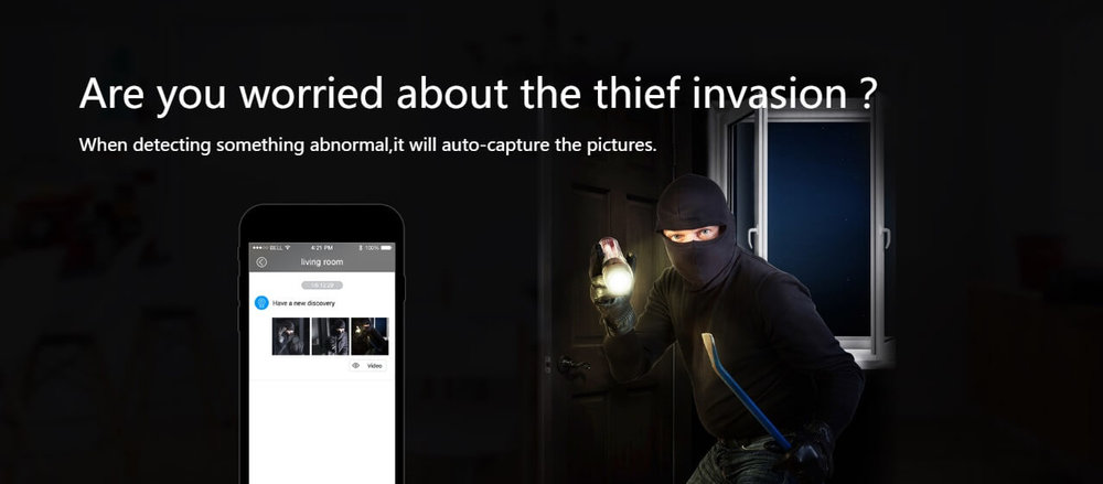thief invasion - night vision