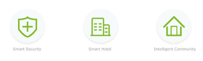 smart security Smart Hotel Intelligent community