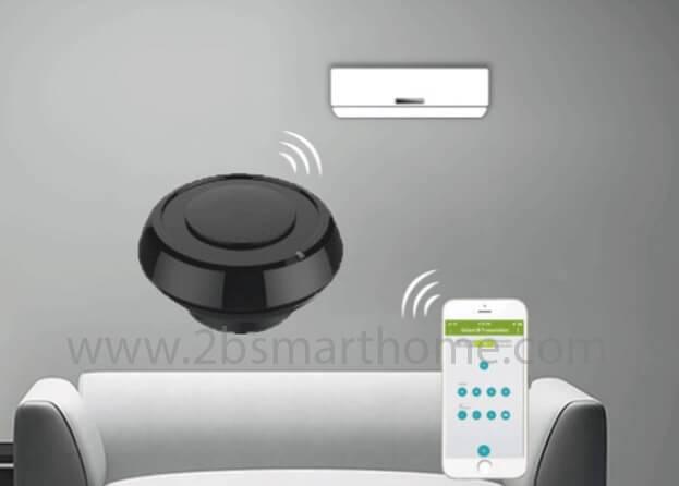 Wulian IR infrared emitters(Single Direction) - เครื่องส่งสัญญาณรีโมทอินฟราเรดควบคุมผ่านโทรศัพท์มือถือ จาก Wulian Thailand - Smart Home Automation บ้านอัจฉริยะ