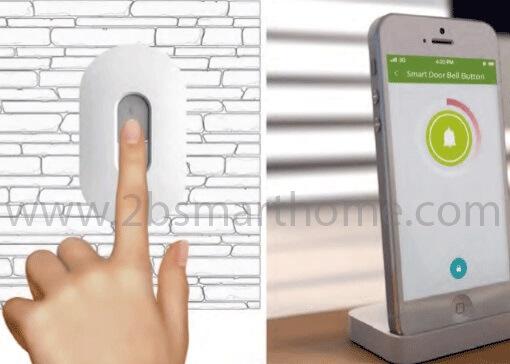 Wulian Smart Door Bell Button - ปุ่มกดกริ่งทำงานเชื่อมต่อกับระบบบ้านอัจฉริยะด้วยสัญญาณไร้สาย zigbee จาก Wulian Thailand - Smart Home Automation บ้านอัจฉริยะ