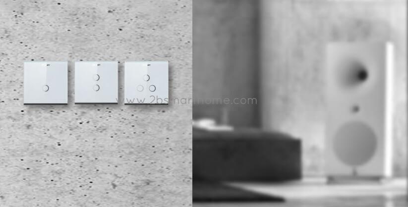 Smart-Touch-Switch(L, N) - สวิทช์ไฟเปิดปิดอัตโนมัติผ่านโทรศัพท์มือถือ จาก Wulian Thailand - Smart Home Automation บ้านอัจฉริยะ Smart Switch
