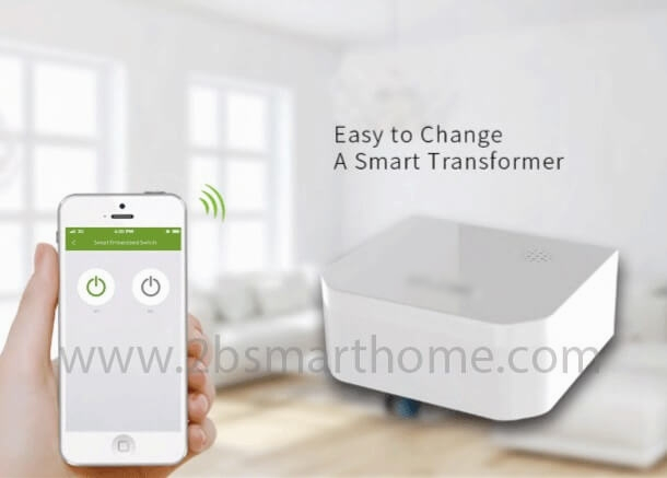 Smart Embedded Switch(Two-Gang) - สวิทช์ควบคุมระบบไฟอัตโนมัติแบบฝัง Thailand - Smart Home Automation บ้านอัจฉริยะ