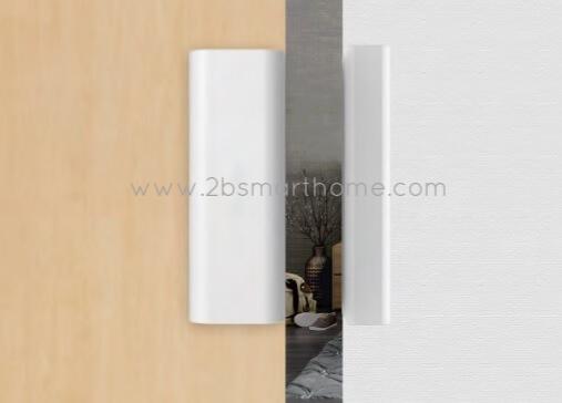 Wulian Smart Magnetic Door/Window Open Detector - อุปกรณ์ตรวจจับการเปิดปิดประตูหน้าต่าง ทำงานระบบเทคโนโลยีไร้สาย Zigbee จาก Wulian Thailand - Smart Home Automation บ้านอัจฉริยะ