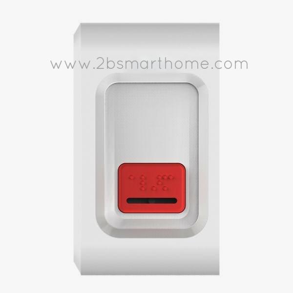 Wulian Smart Panic Button - ปุ่มกด SOS แจ้งเหตุฉุกเฉินทำงานบนระบบสัญญาณไร้สาย zigbee จาก Wulian Thailand - Smart Home Automation บ้านอัจฉริยะ