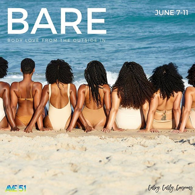 BARE. Body love from the outside in. A retreat that nourishes women of all shapes, sizes, textures and tones. — 🧘🏾‍♀️Daily meditations 🙆🏾‍♀️Yoga 💆🏾‍♀️Body love 👭Connection 🇯🇲Location —  And...It's all inclusive! 🙌🏾.🍷 🍾🍹🍸Drinks on us,beauties! See you there. #BAREretreat #CurvyCurlyConscious #TribeVibes #AVE51 #AVE51Ladies — Links are in bio — 📸 by @dioburtophoto