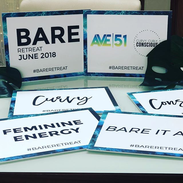 Ready to bare it all? We are!😉🤫#bareretreat #ave51 #curlycurvyconscious
