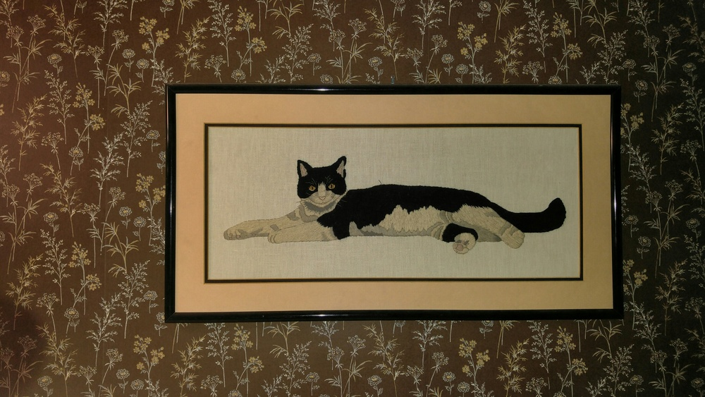 Me, Thomas Becket, the original six-toed cat.