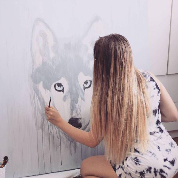 custom artwork pet