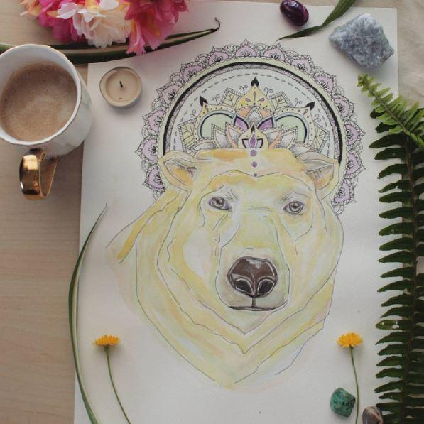 polar bear commission art
