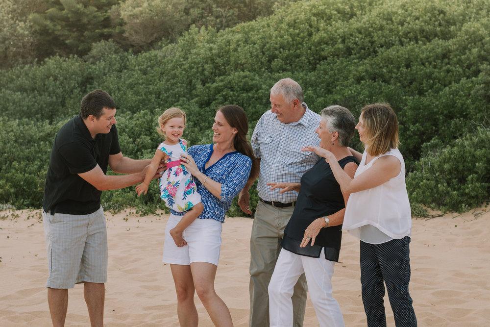 fun family photo with grandchild
