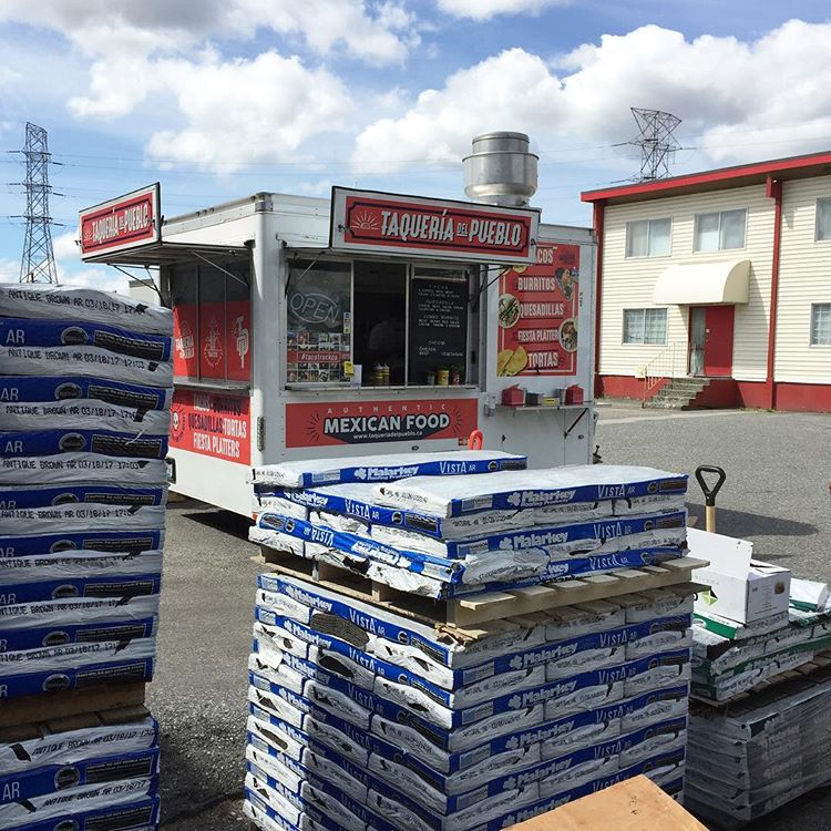 @CedarGroveRoofingSupply - Cedar Grove Burnaby smells delicious right now. What are you waiting for!? Get down here and rock a taco!  #tacos   #roofing   #cedargrove