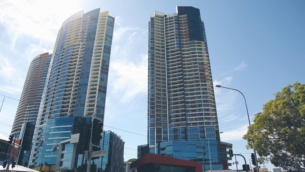 The towers of Southport Central are the biggest development in Southport to date and have brought a whole new level of sophistication to the suburb.