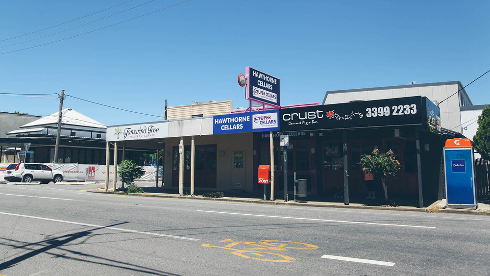 Hawthorne is a trendy suburb that is now selling a development boom in the form of new apartments and commercial outlets springing up.
