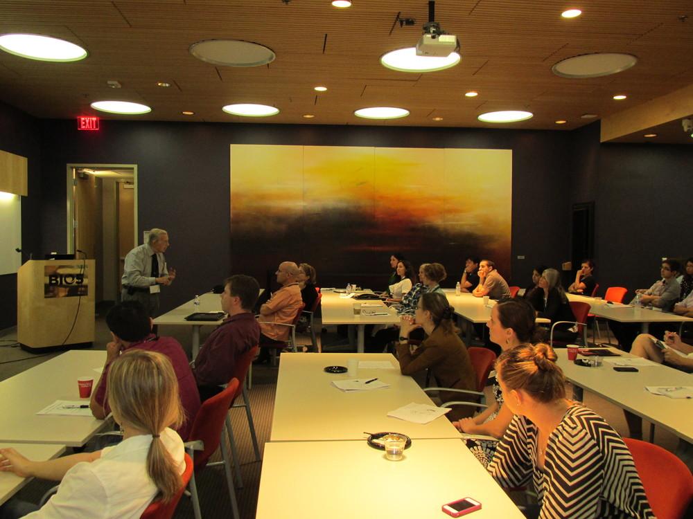 2014 Meeting - Tipton lecture.JPG