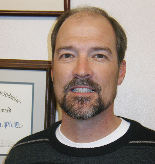 Past Secretary-Treasurer   of the Arizona Physiological Society    Erik Henriksen, PhD