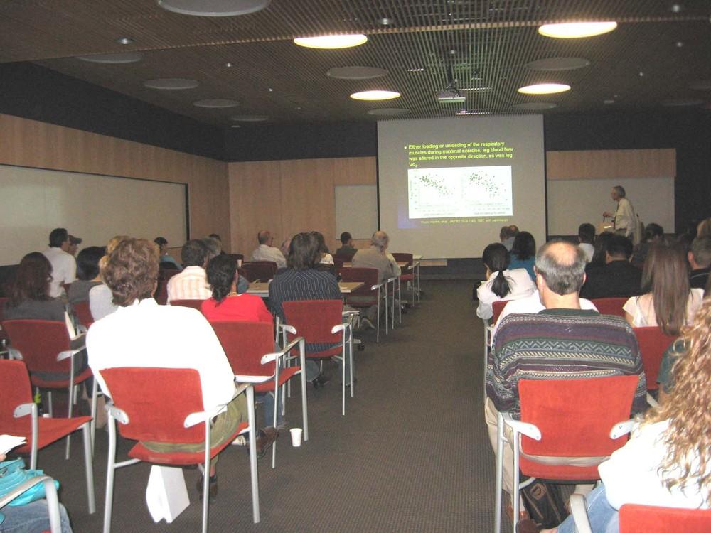 Richard Coast giving the Arizona Distinguished Lecture