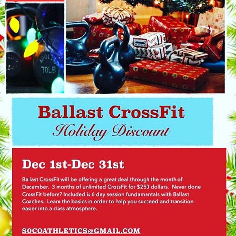 Interested in doing something different for your health and fitness? Do you enjoy making progress and being taught how to optimize your endurance, strength, and performance? Ever wanted to try a strength and conditioning program but cost got in the way? Perhaps Now Is The Time… #ballastcrossfit #weightlifting #camppendleton #crossfit #militarymuscle #usmc #momlife #oceanside #fit #healthylife #sandiego  (at Ballast CrossFit)