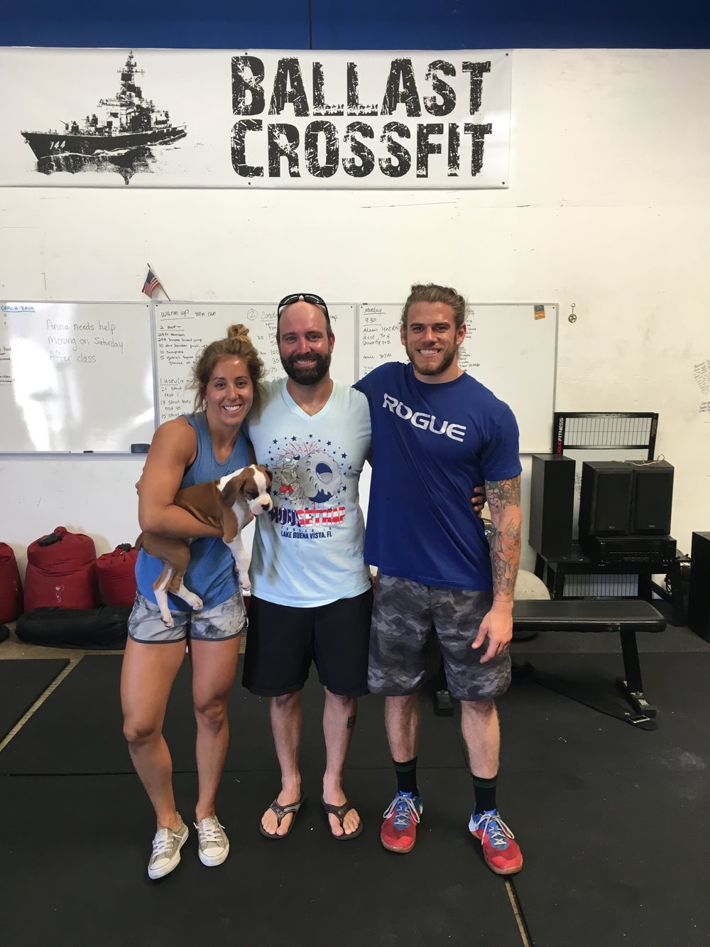 Said farewell to another awesome member Jesse. CrossFit community is pretty amazing.