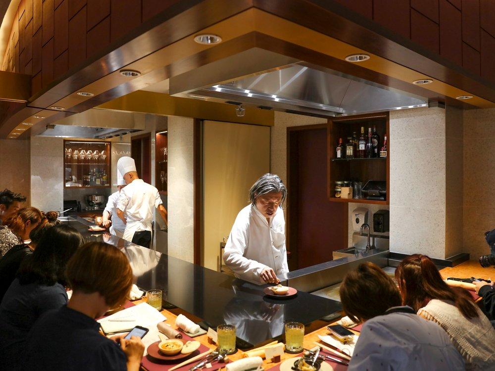 MASAYASU YONEMURA  Michelin Chef at TEPPAN by Chef Yonemura