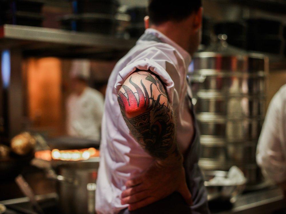 Michelin Star Chef Sam Aisbett of Whitegrass