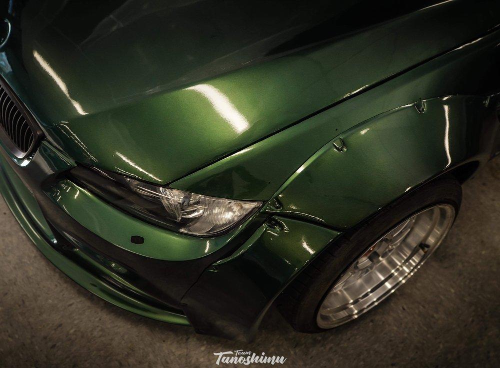 Custom Tahitian Green AutoFlex Gloss