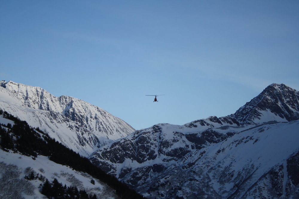 Flying in from Girdwood with Alpine Aire Alaksa