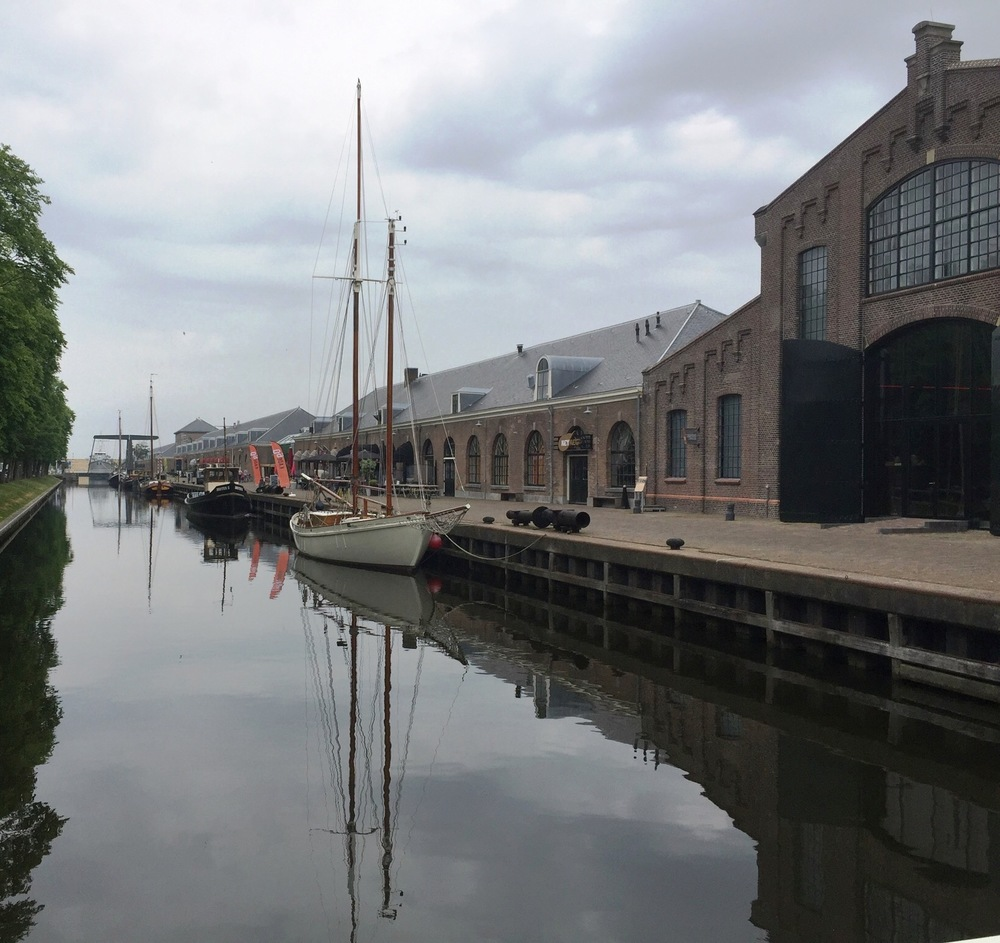 מתחם ה Willemsoord לפני הגשם