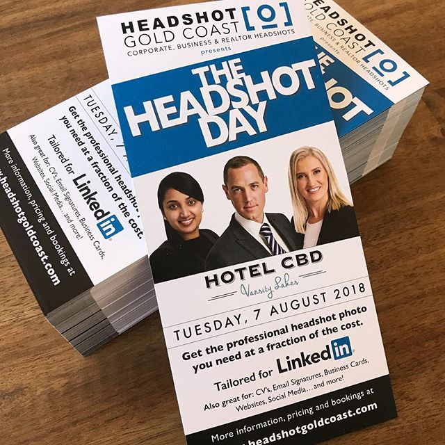 Headshot gold coast blog flyers for the headshot day on tuesday 7 august 2018 come get a professional reheart Image collections