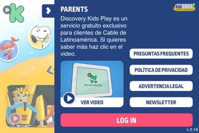 Parent's and login section